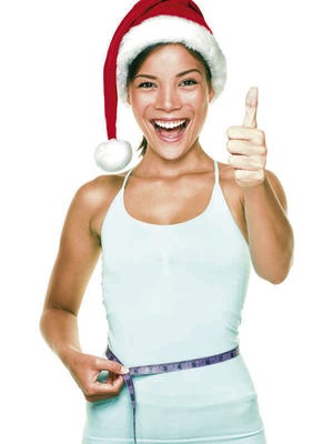 The average American gains one to two pounds every year during the holiday season.