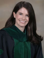 Brielle Robin Hebert graduated from medical school Tuesday.