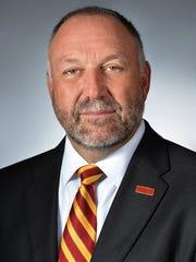 Steven Leath, president of Iowa State University