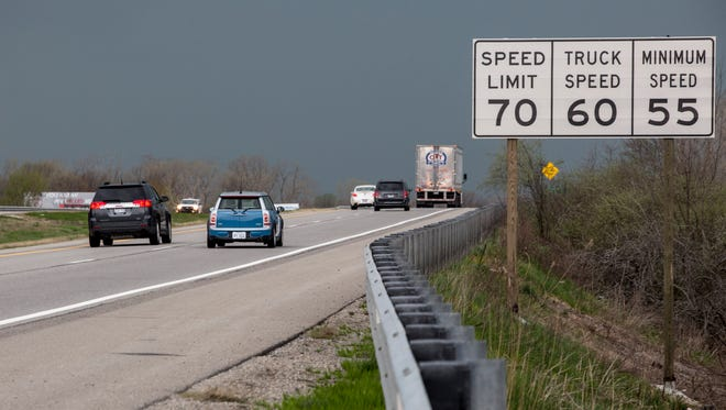 The speed limit on Interstate 69 between Flint and Port Huron will rise to 75 mph sometime this summer. Speed limits for trucks will also rise to 65 mph.