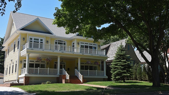 The Sapienza home in the McKennan Park neighborhood is shown June 27, 2016.