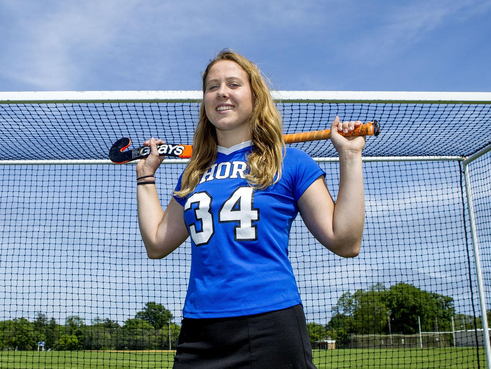 Sarah Dwyer is one of the most successful goaltenders at the Shore.