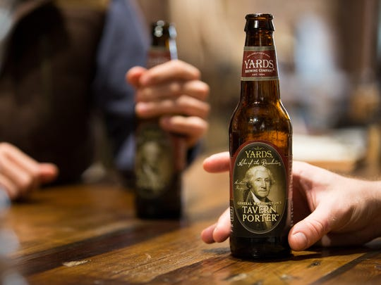 General Washington's Tavern Porter from Yards Brewing Company has been featured at York's History Untapped event.