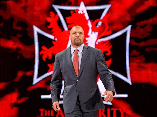 "Paul ""Triple H"" Levesque, WWE's executive vice president"