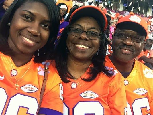 Marcus Edmond family