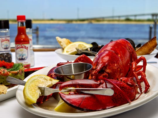Enjoy lobster at Bahrs Landing.