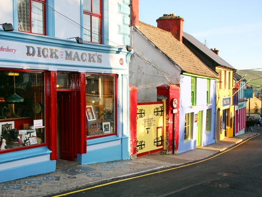 On the colorful streets of Dingle, you'll hear a steady