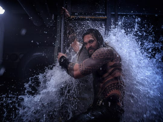 Arthur Curry (Jason Momoa) is still a reluctant hero