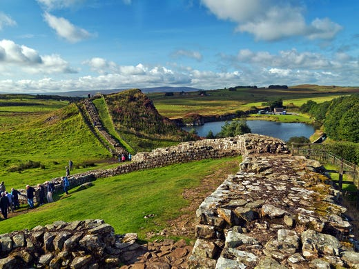 Wandering The Ruins Of Hadrian S Wall Is A Highlight