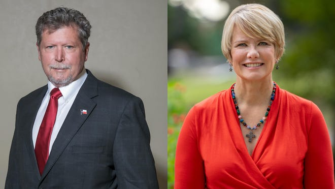 Republican Jim Wright defeated Democrat Chrysta Castañeda for a seat on the three-member Texas Railroad Commission.