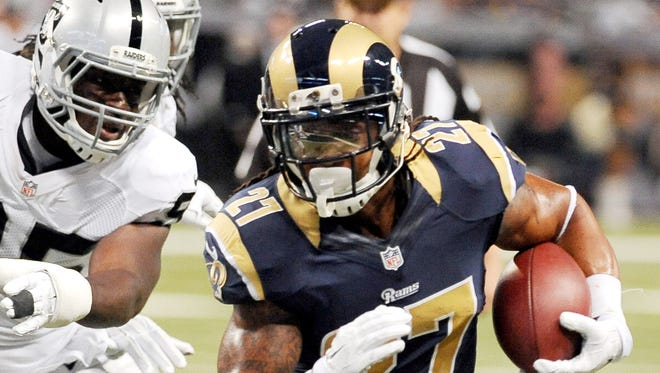 Tre Mason took to Instagram to talk about how he wasn't allowed to take kids to work out with him at his old high school of Park Vista.