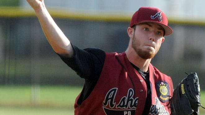 Dylan Fox and the Asheville American Legion Post 70 baseball team are 6-2 after Thursday's win.