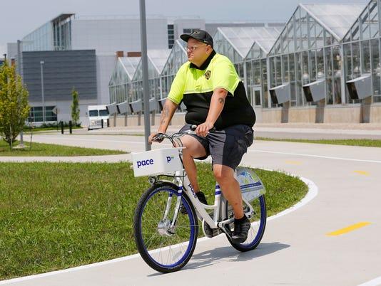 LAF Bangert col Pace bikes at Purdue