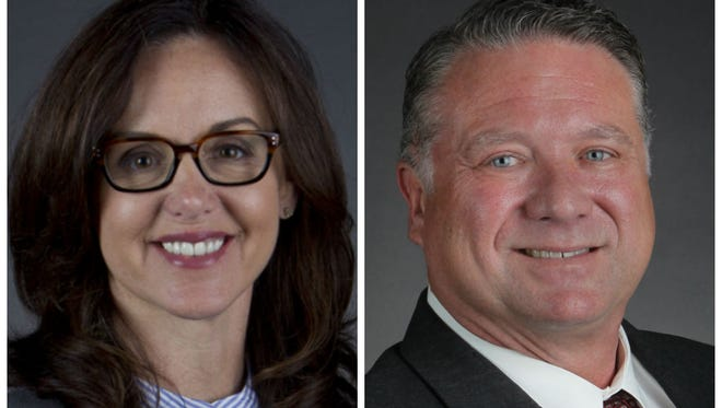 Sen. Lizbeth Benacquisto is challenged by Michael Dreikorn for the State Senate District 30 seat.