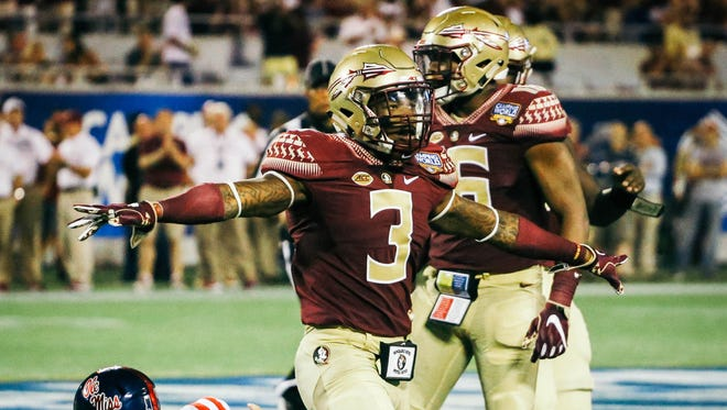 Led by star safety Dervin James (3), Florida State's defense figures to be one of the nation's best in 2017.