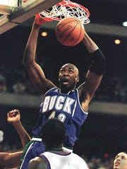 Vin Baker was a three-time NBA All-Star with the Bucks