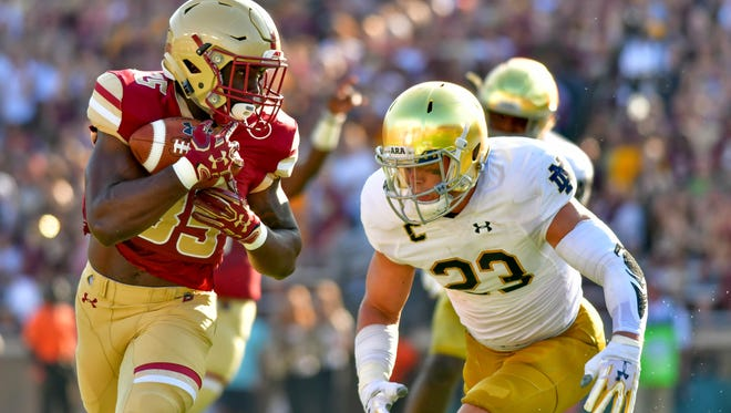 Notre Dame's Drue Tranquill announced he'll return for a fifth season.