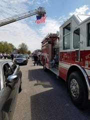 A Silent Remembrance Parade is being held Wednesday as local fire stations are kicking off Fire Prevention Week and to honor fallen firefighters.