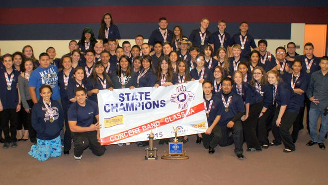 The Deming High School Concert Band captured a fourth consecutive state championship and the school's first-ever as a Class 6A program. The state title is the school's eighth in the last 10 years.