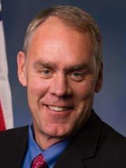 Rep. Ryan Zinke, R-Mont.