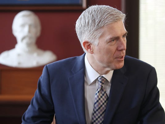 Gorsuch Justice Department