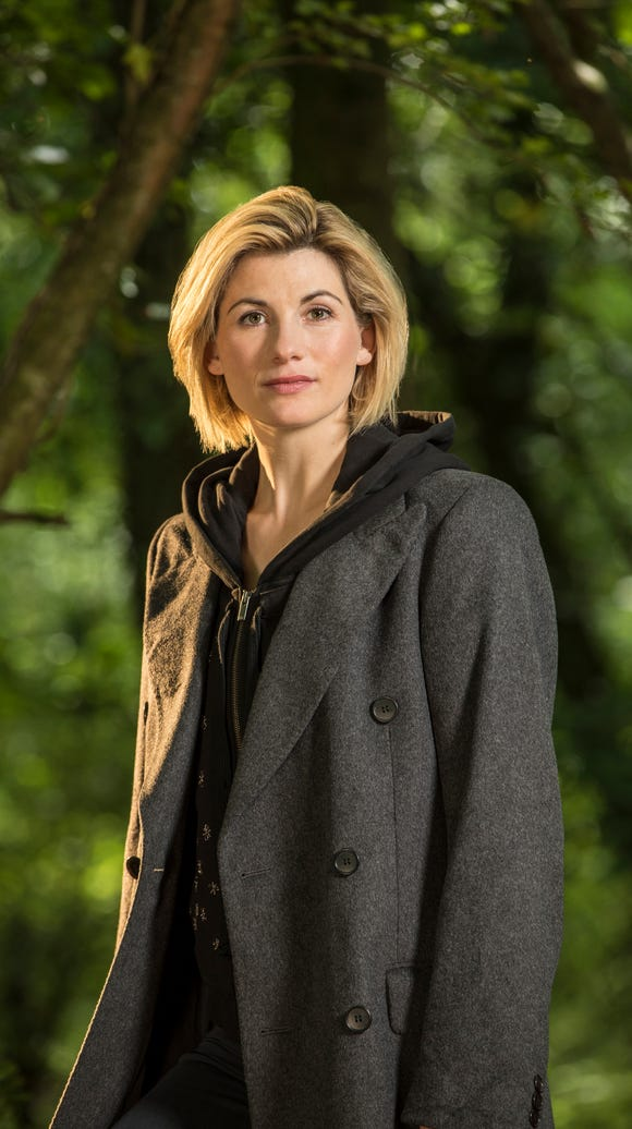 Jodie Whittaker as the 13th Doctor on 'Doctor Who.'