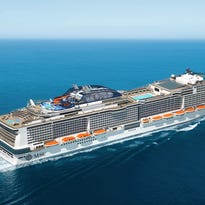 100 days until arrival of giant MSC Cruises ship