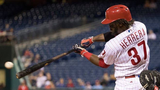 Philadelphia Phillies outfielder Odubel Herrera was mocked by the Astros and benched by his manager during Tuesday's loss to Houston.
