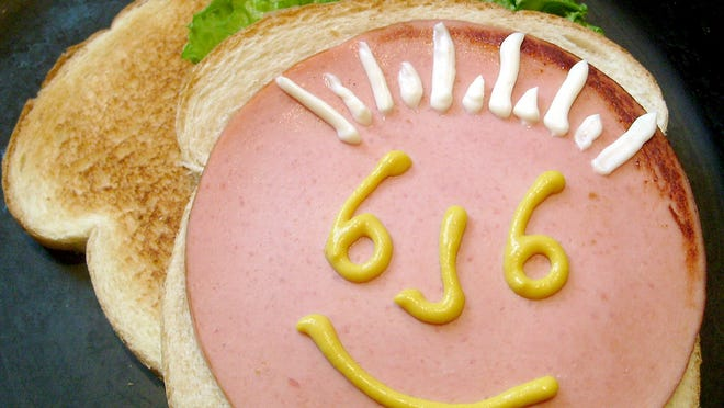 What makes your fried-bologna smile? Toasted or untoasted bread? Thick- or thin-sliced meat, fried crisp or left wiggly?  Mayo or Miracle Whip? Or do you prefer yellow or sweet mustard with or without the lettuce? Any way you slice it, it adds up to the ideal fried-bologna sandwich.