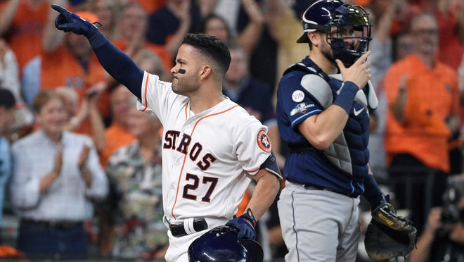 Jose Altuve and the Houston Astros made plenty of offseason headlines when their sign-steal, trash can-banging scandal of the 2017 season was brought to light.