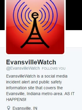 Evansville Watch logo