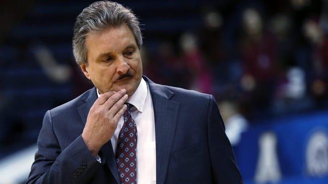 Former Texas State men's basketball coach Danny Kaspar resigned in September.