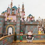 Frank and Kim Kuhn express their love for Christmas each year by transforming their St. George home into an interactive, Disney-themed castle with half a million lights, water features and synchronized music Saturday, Dec. 5, 2015. Over the six years they have been operating, the Kuhns have continued to expand their display, making room for the increasingly larger crowds who pass through during December each year.