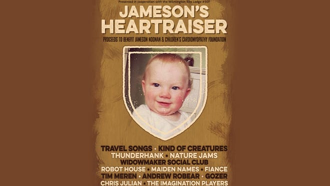 Jameson's Heartraiser on Saturday will feature performances by some of Delaware's best indie rock bands.
