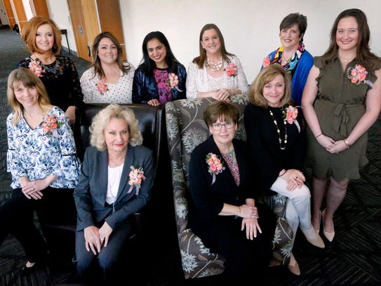 Ten Women in Business were honored during a special