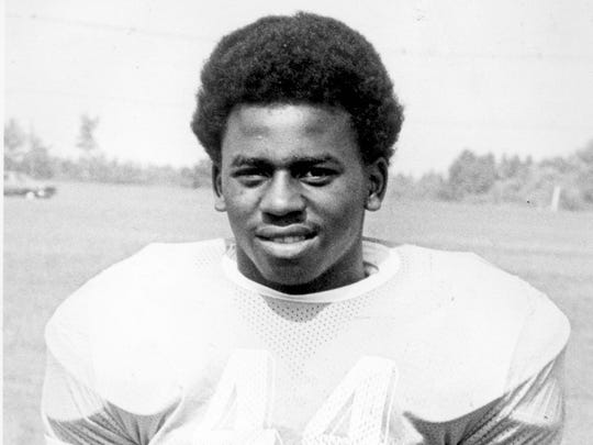 Howell running back Bill Hill, shown in a 1975 photo.
