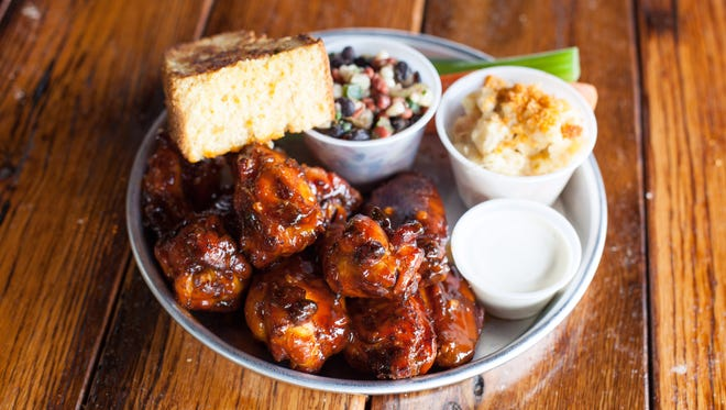 Smoked chicken wings from Edley's Bar-B-Que