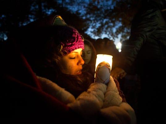 girl w candle