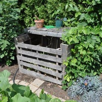 Dr. Dirt: For best results, use container for composting