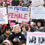 Michigan women flood Washington for march for equality