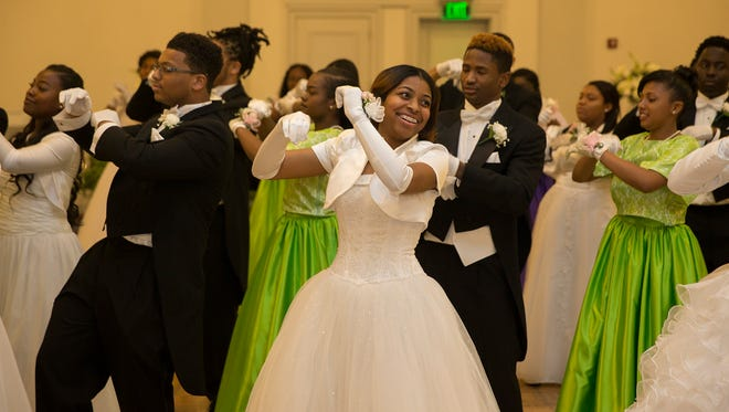 Debutante and Escort Jazz Dance at the 67th Monmouth County Cotillion at Ocean Place Resort and Spa in Long Branch on May 7, 2017