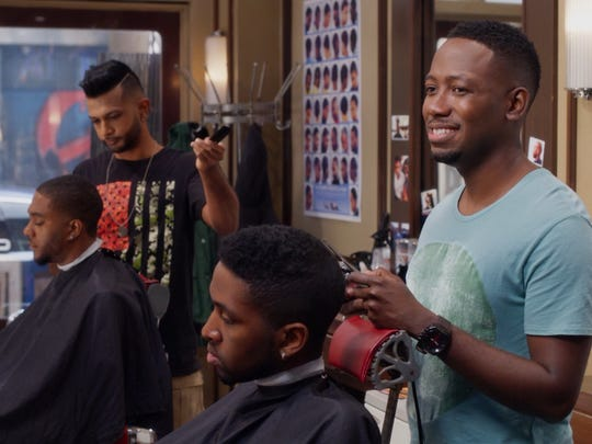 """A scene from """"Barbershop: The Next Cut."""""""