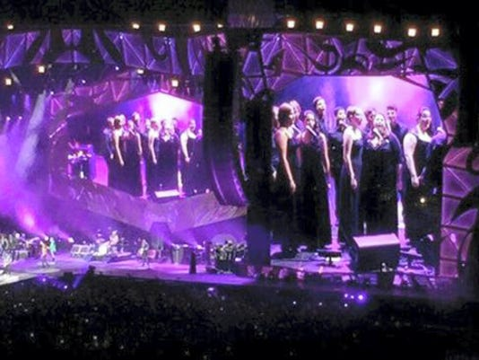 The members of the Penn State Concert Choir belonged to another acclaimed musical outfit — the Rolling Stones — last Saturday in Pittsburgh.