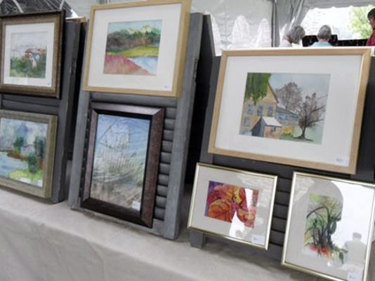 A variety of artworks will be for sale at Adams County Arts Council's fifth annual Art at the Winery.