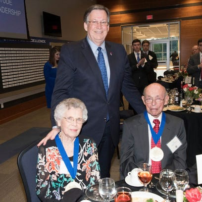La. Tech honors supporters at annual Benefactors Dinner
