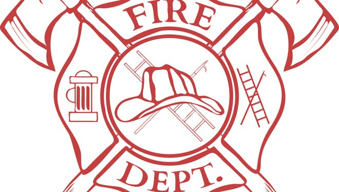 Fire Dept. label.