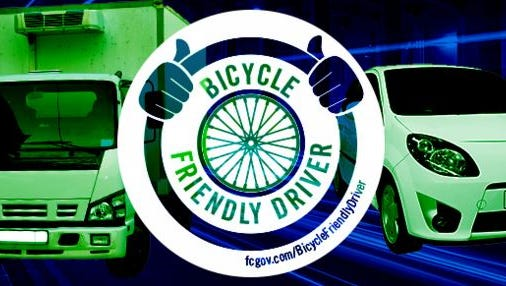 """FC Bikes launched its new Bicycle Friendly Driver program this week, providing a 90-minute interactive course to educate drivers on the safest ways to share the road with bicyclists and certify participants as """"Bicycle Friendly Drivers"""" upon completion, according to a news release."""