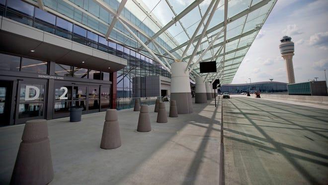 The new Maynard Holbrook Jackson Jr. International Terminal at Atlanta's airport.