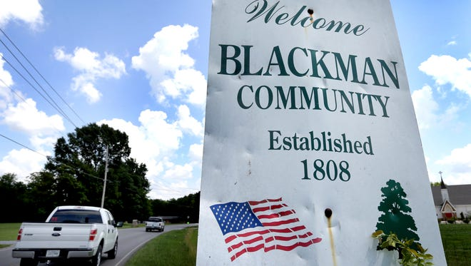 The Blackman community was established nearly 200 years ago and is one of the fastest-growing areas in Rutherford County.