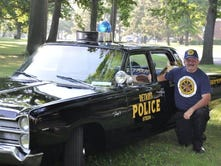 One grandson's quest to restore a 1967 police car